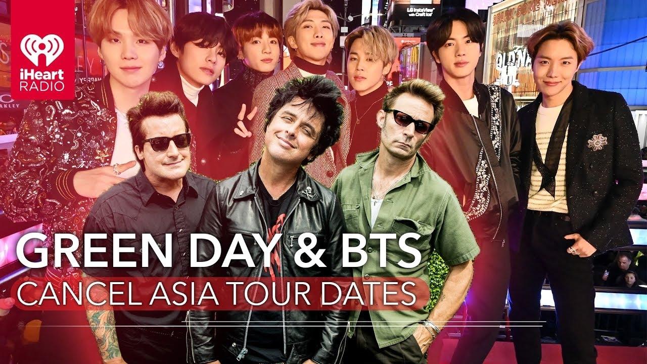Green Day y BTS cancelan presentaciones a nivel mundial por el Coronavirus COVID 19