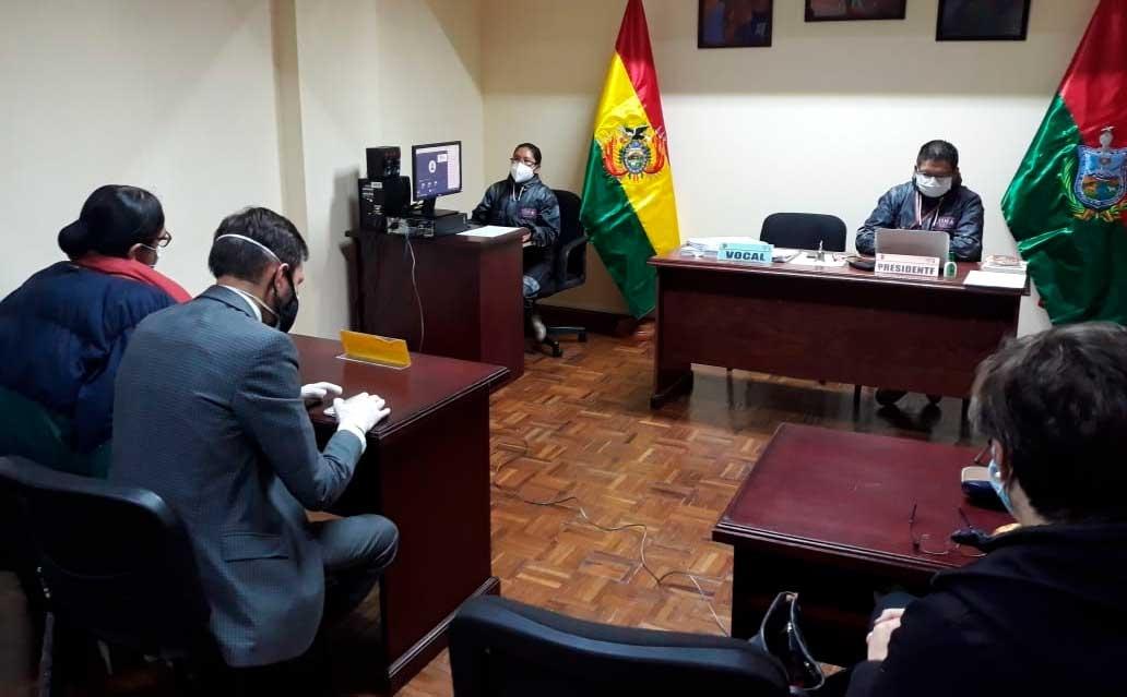 la Sala Constitucional de La Paz ratifica inhabilitación de candidatura de Evo por el Senado de Cochabamba