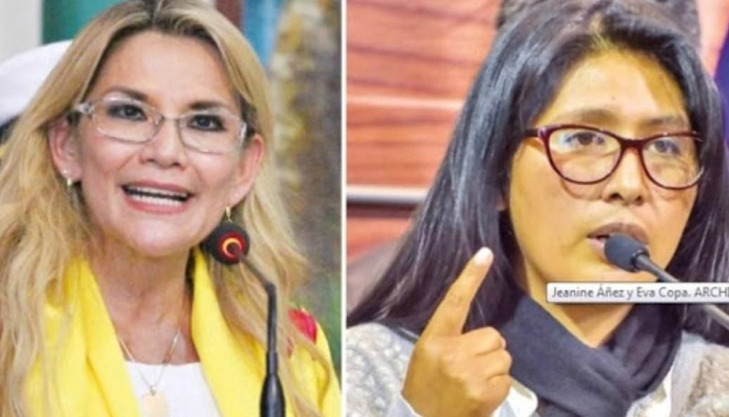 Eva Copa denunció que gobierno transitorio de Jeanine Áñez pagó interés de $us 1,6 millones por crédito no aprobado en el Legislativo del Fondo Monetario Internacional (FMI), de $us 327 millones
