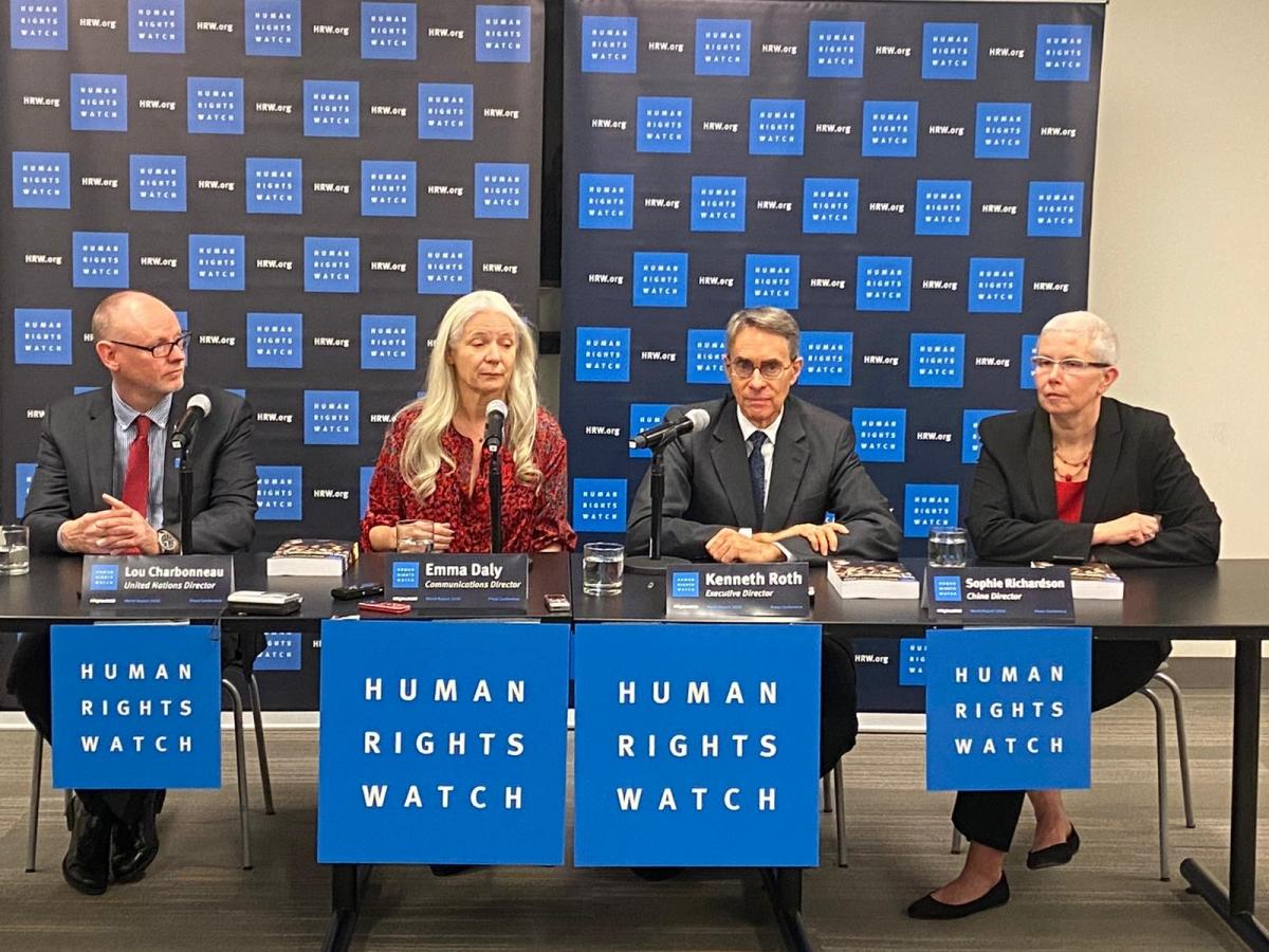 Human Right Watch denuncia persecución política, acusación contra Evo Morales es desproporcionada y debe retirarse
