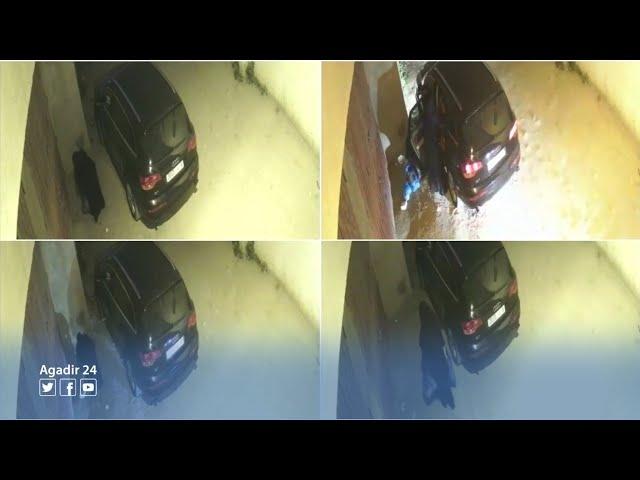 Condenan por fraude a mujer que se cambiaba de ropa dentro de su lujoso automóvil para empezar a pedir limosna
