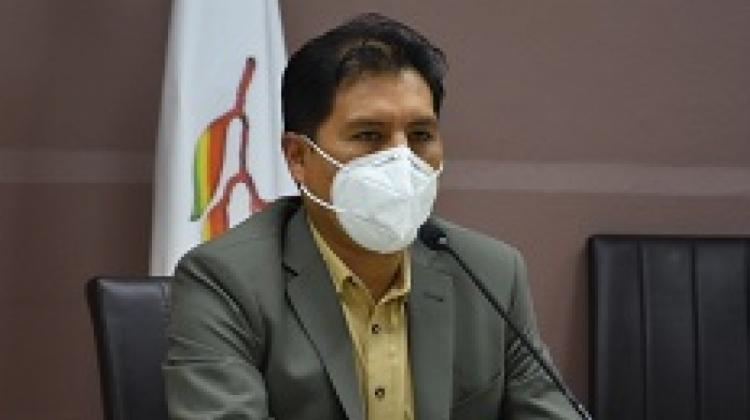 Ministro de Salud Jeyson Auza denuncia que