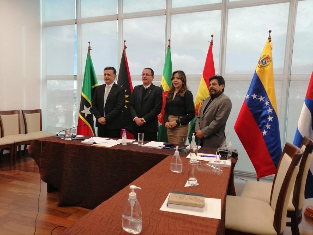 Viceministra de Comunicación Gabriela Alcón denunció en el ALBA vulneración de derechos en Bolivia durante régimen de Jeanine Añez