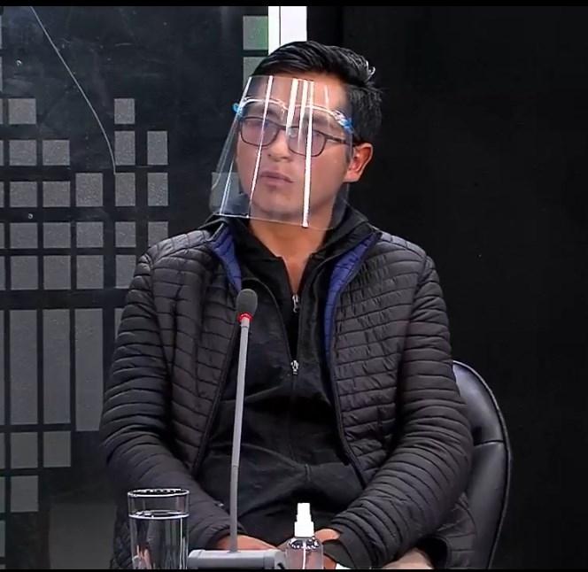 Joven relató que fue baleado en el brazo izquierdo en Senkata (El Alto) el 19 de noviembre de 2019