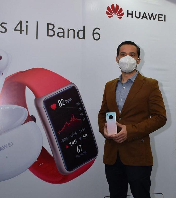 Ya está en Bolivia el Smartphone Y9A, los audífonos FreeBuds 4i y la pulsera Band 6, lo nuevo de Huawei