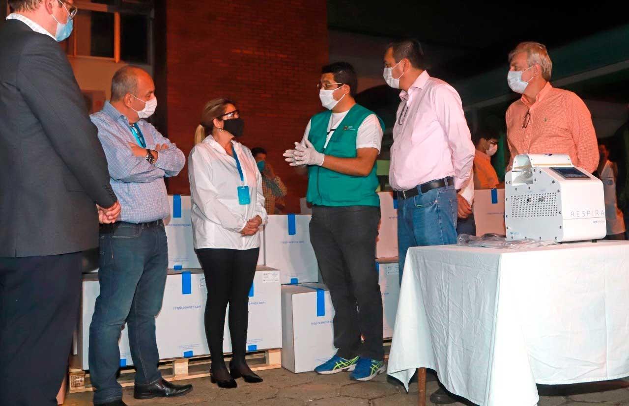 Pronto presentación de demanda por muerte de personas a causa de la falta de respiradores para las Unidades de Terapia Intensiva en la administración de la expresidenta Jeanine Añez
