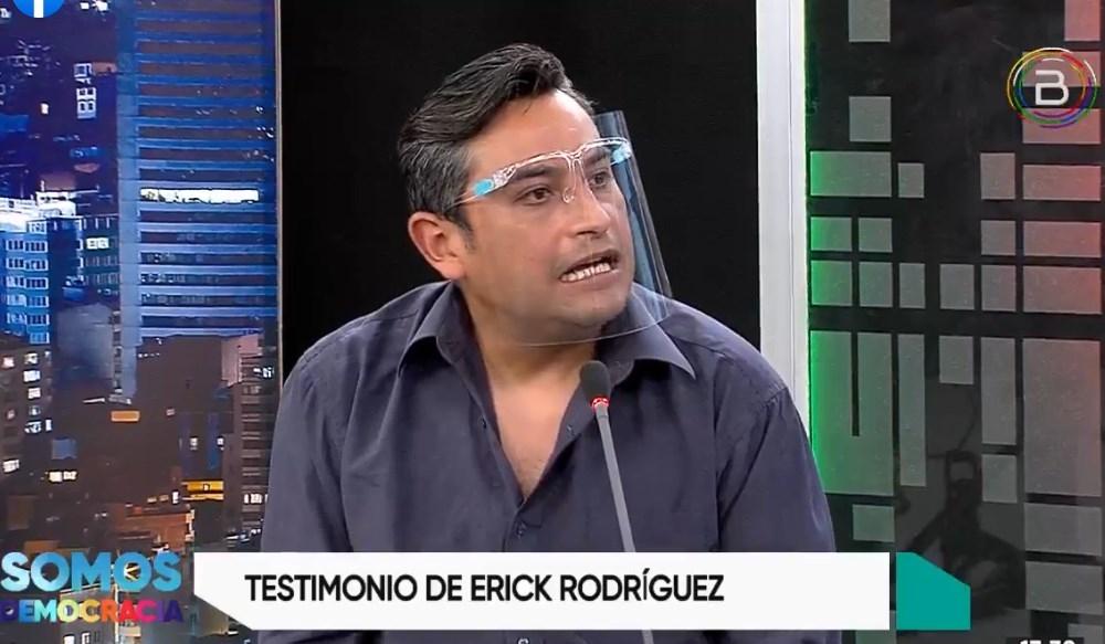 Dirigente vecinal de La Paz Erick Rodríguez pide sancionar a paramilitares de
