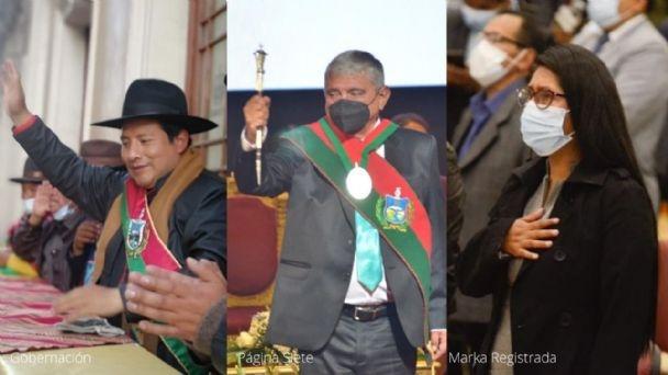 Arias, Copa y Quispe coinciden sus discursos
