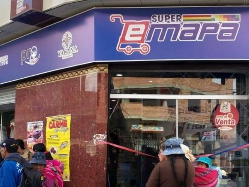 15% de descuento Emapa venderá productos se comercializan en todas sus sucursales y Súper Emapas de Bolivia