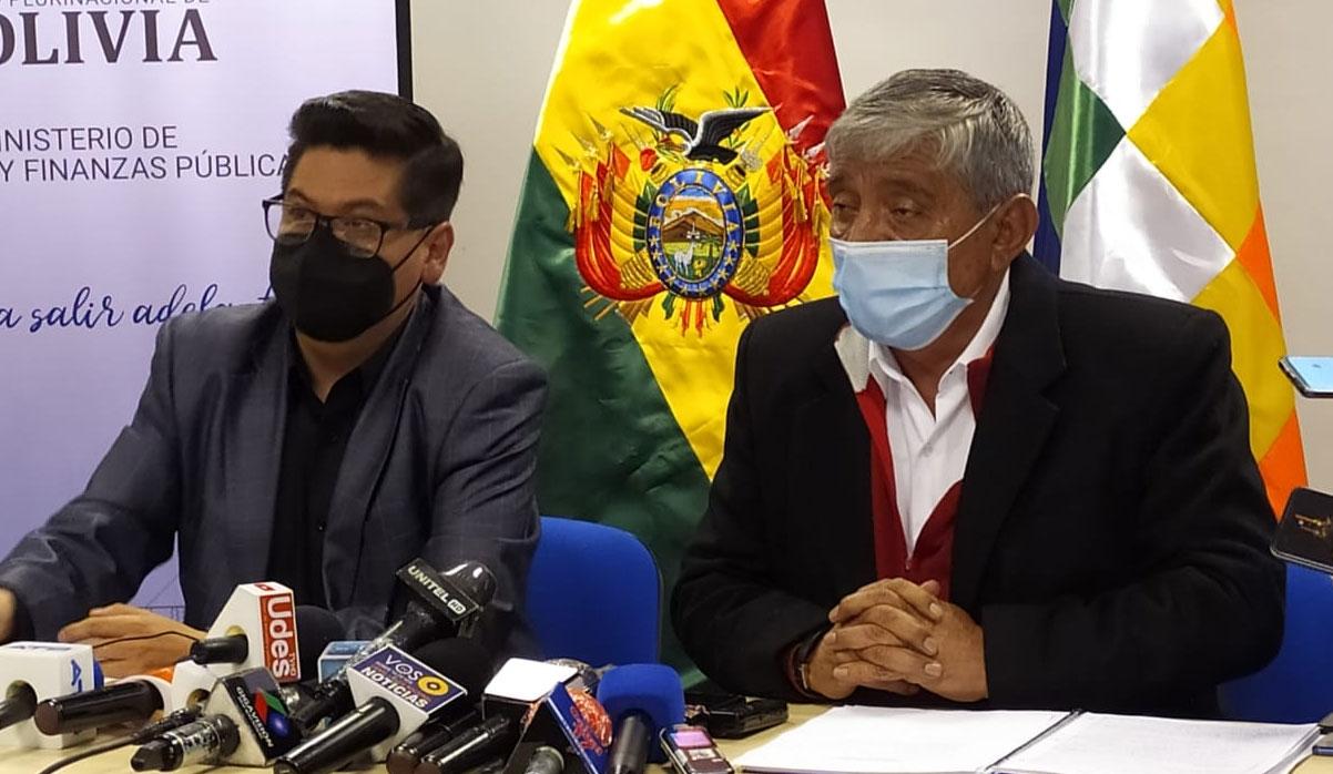 Ministro Marcelo Montenegro aseguró que la situación financiera del municipio de La Paz es
