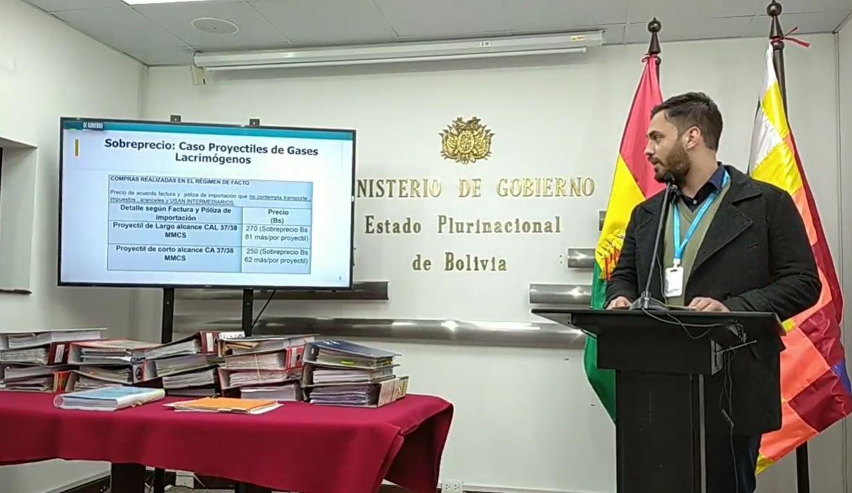Resultados de auditorías evidencian irregularidades en 22 procesos de contratación en la gestión Arturo Murillo confirmó ministro de Gobierno Eduardo Del Castillo