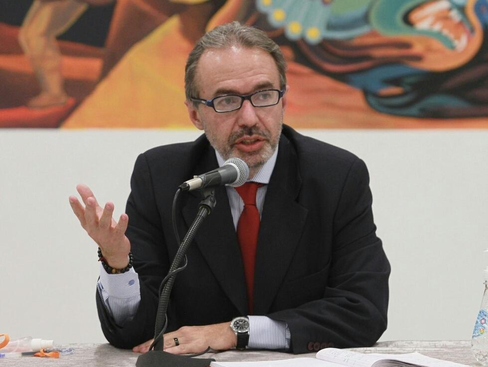 Jorge Richter vocero presidencial: