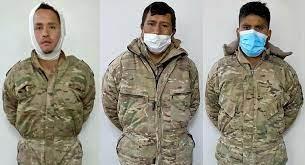 Los tres militares bolivianos detenidos en Chile fueron beneficiados este lunes con arresto domiciliario, luego que la Corte de Apelaciones revocara la detención preventiva